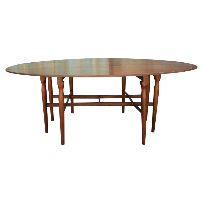 Modern Drop Leaf Gateleg Console Or Serving Table By