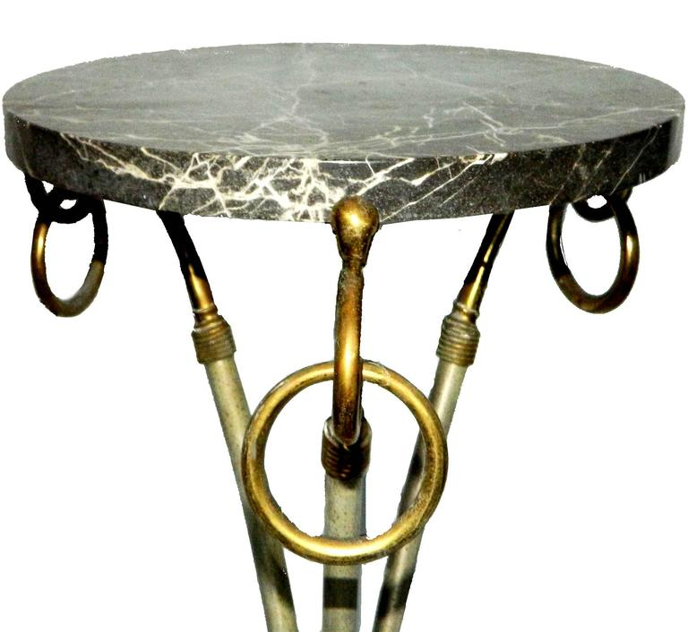 French  Pair of Maison Jansen Pedestal For Sale