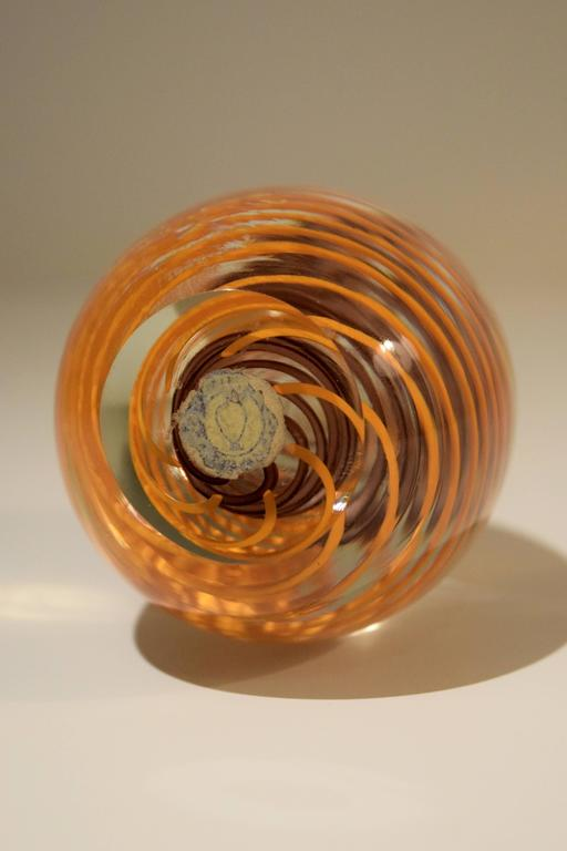 Mid-Century Modern Venini Glass Paperweight For Sale