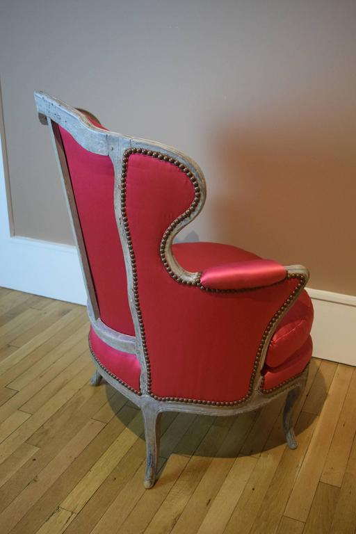 Painted Louis XV Armchair Owned by Elsa Schiaparelli For Sale