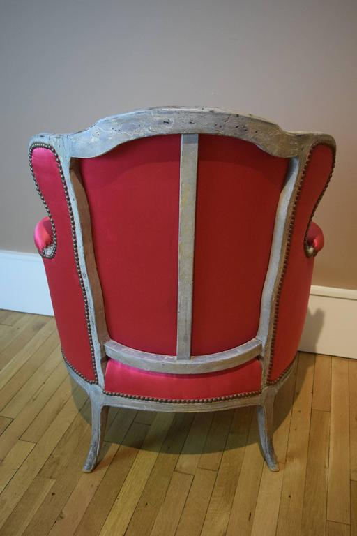Louis XV Armchair Owned by Elsa Schiaparelli In Good Condition For Sale In New York, NY