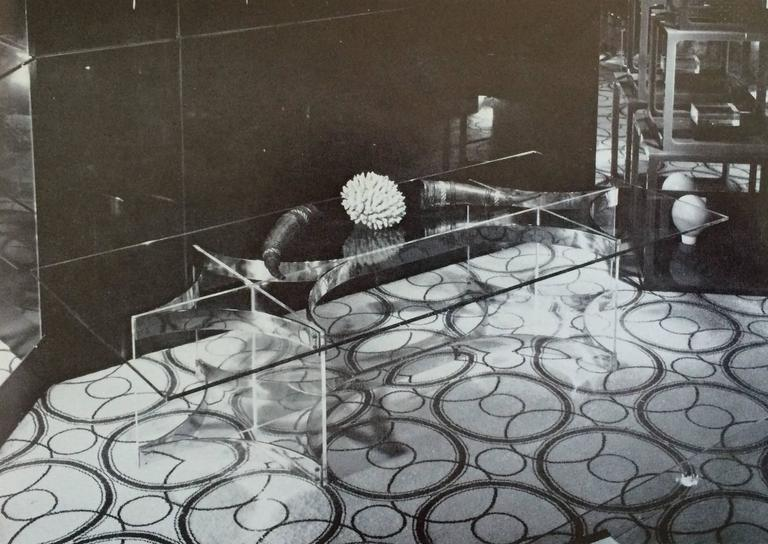 Woven Alessandro Albrizzi Rug from the 1960s For Sale