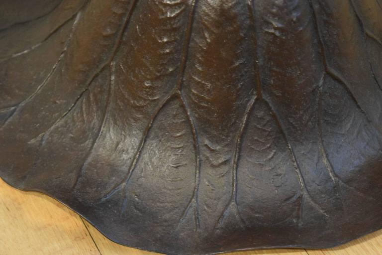 John Bradstreet Bronze Lotus, circa 1900 For Sale 2