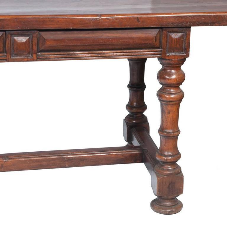 19th Century English Farmhouse Table For Sale