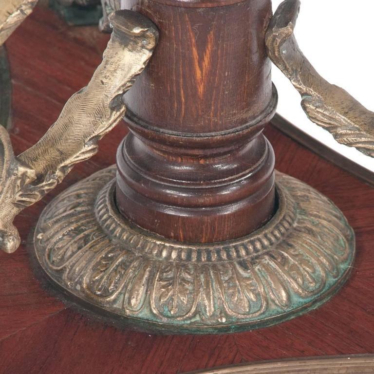 Empire Salon Table In Good Condition For Sale In Lawrenceburg, TN