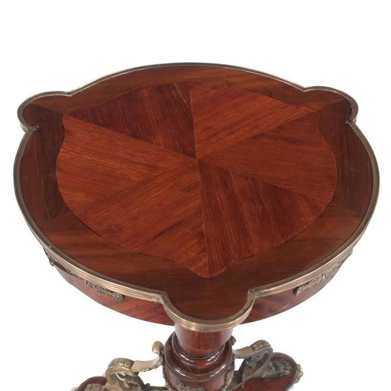 Empire Salon Table For Sale 1