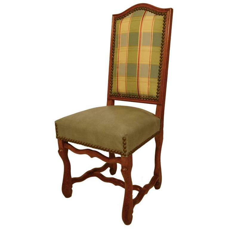 S/8 Country French Dining Chairs In Good Condition For Sale In Lawrenceburg, TN