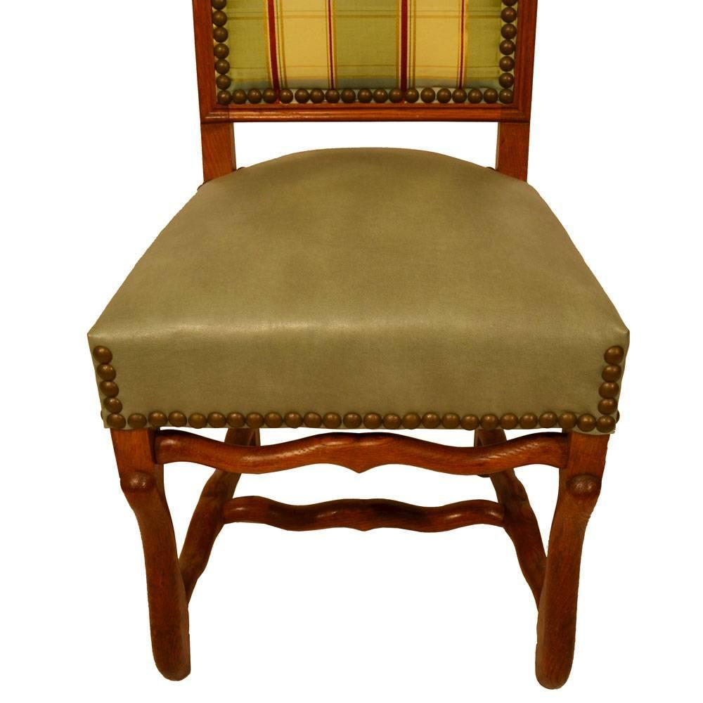 S 8 Country French Dining Chairs For Sale at 1stdibs
