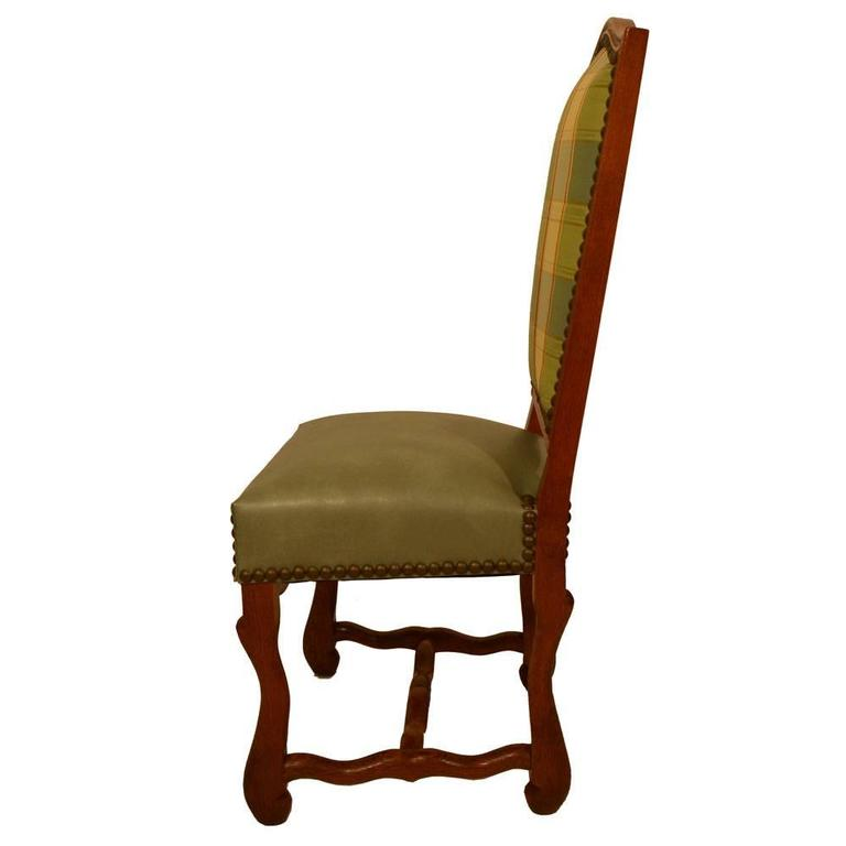Early 20th Century S/8 Country French Dining Chairs For Sale