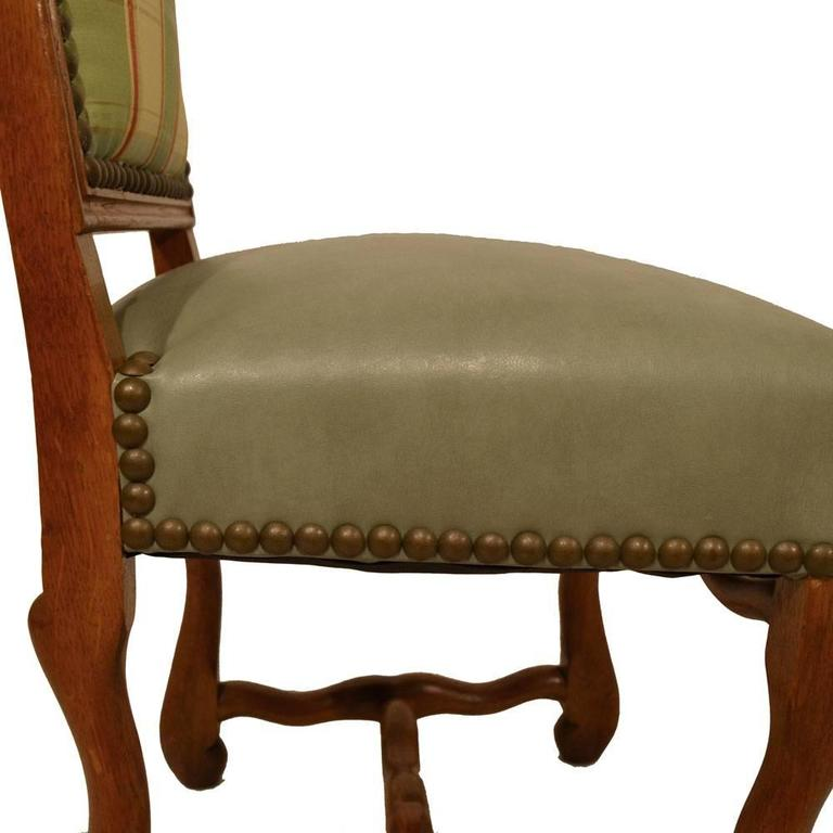 S/8 Country French Dining Chairs For Sale 6