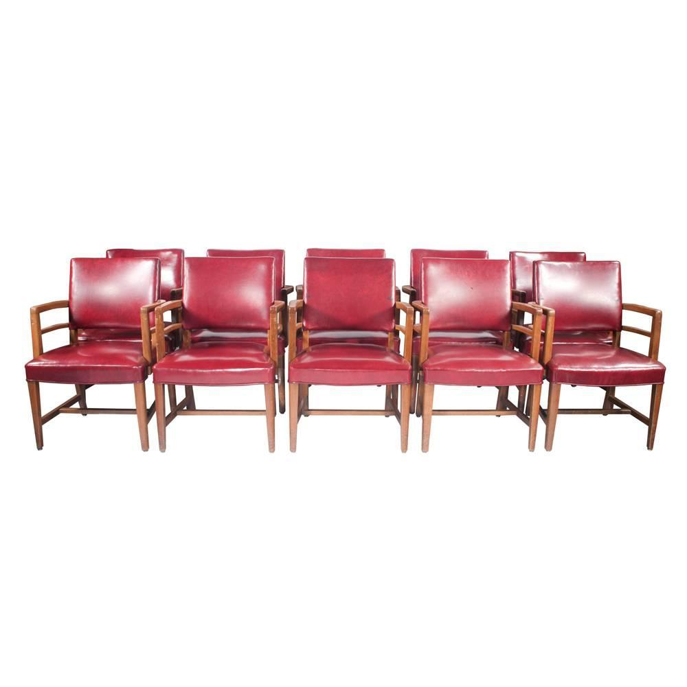 Set Of 10 Jasper Conference Room Chairs At 1stdibs