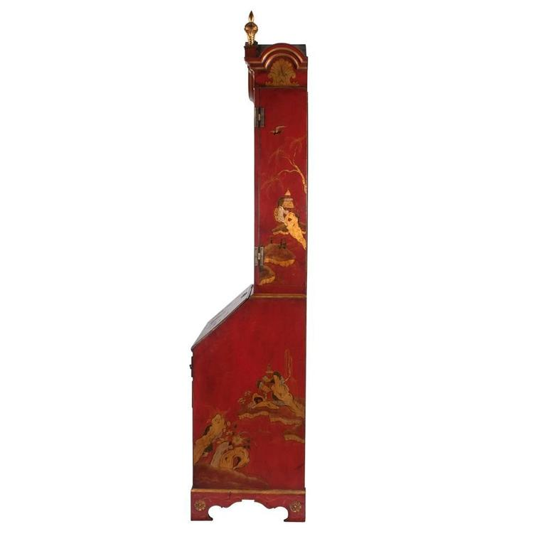 Queen Anne Chinoiserie Secretary For Sale 5