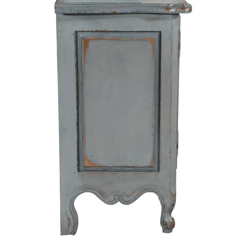 Country French Two-Part Cabinet For Sale 5
