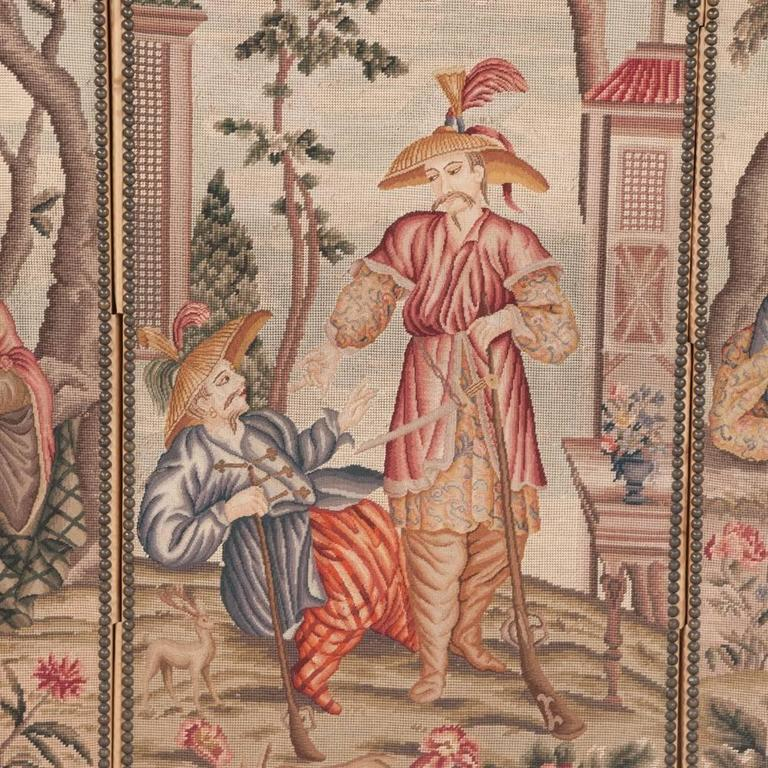 Three-Panel Tapestry In Good Condition In Lawrenceburg, TN