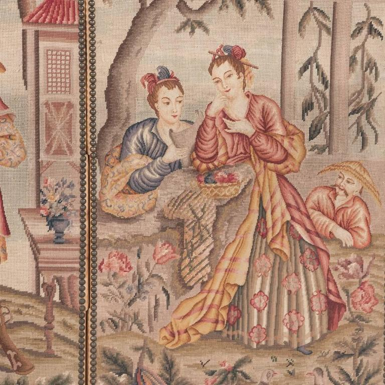 Three-Panel Tapestry 1