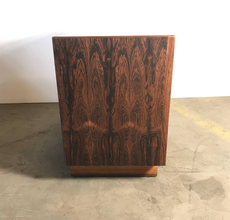 Danish Stunning Rosewood Falster Four-Drawer Chest Dresser Made in Denmark For Sale
