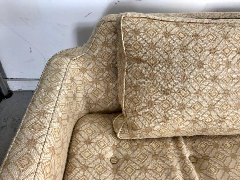 Fabric Modernist Sofa Designed by Edward Wormley for Dunbar For Sale