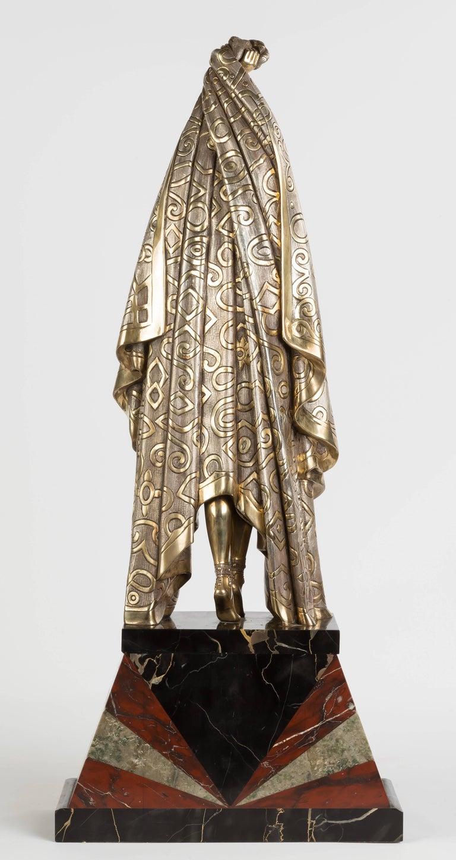 Demetre Chiparus (Romanian, 1886-1947) Antinea sculpture, circa 1925. Measures: 27