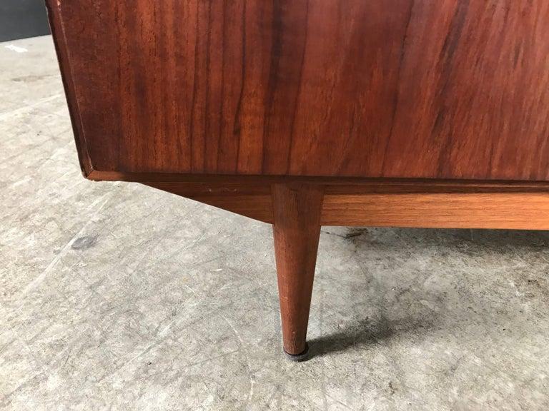 Mid-20th Century Danish Modern Teak Two-Door Cabinet, Manner of Arne Vodder For Sale