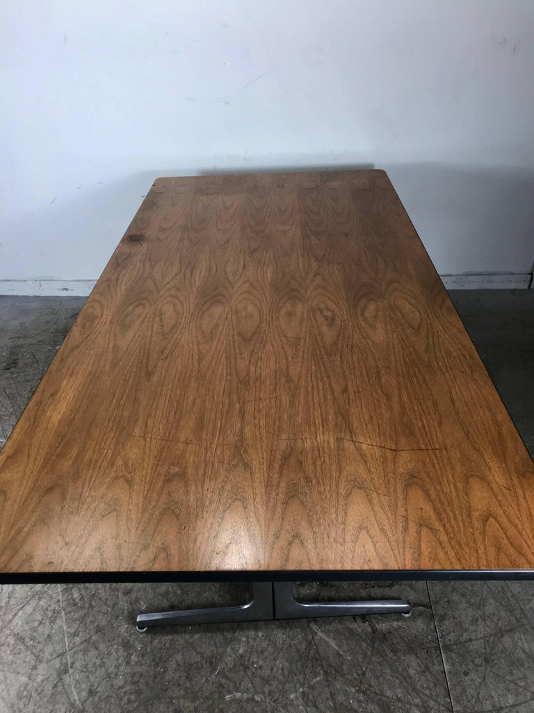 Elusive Modernist Action Office Desk or Table by George Nelson for Herman Miller For Sale 1
