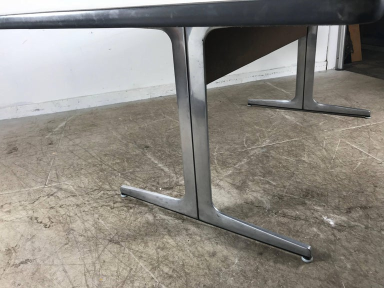 American Elusive Modernist Action Office Desk or Table by George Nelson for Herman Miller For Sale