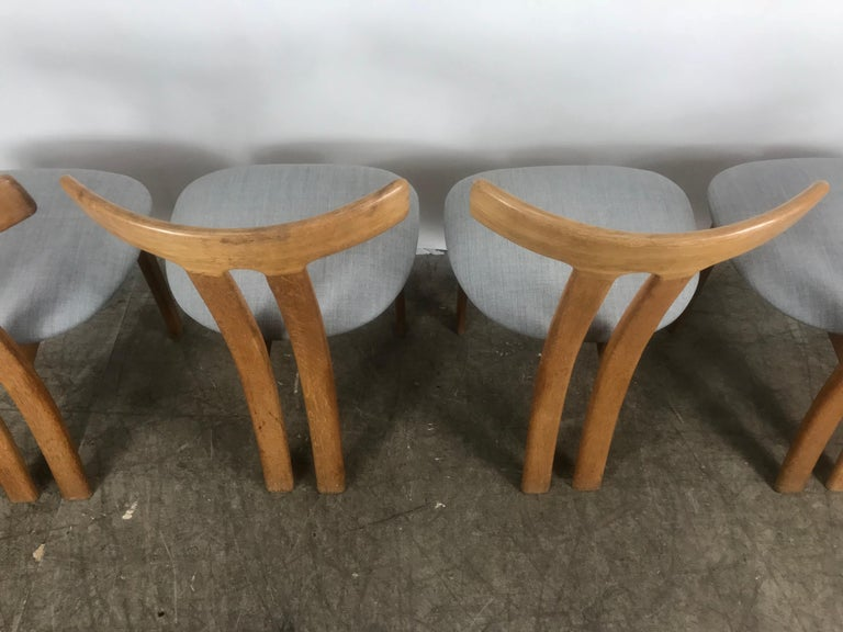 Set 4 Dining Chairs Attributed to Ole Wanscher,
