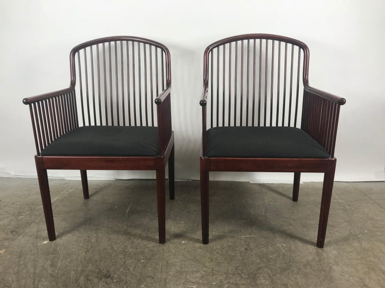 Italian Pair Davis Allen Andover Armchairs for Stendig of Italy For Sale