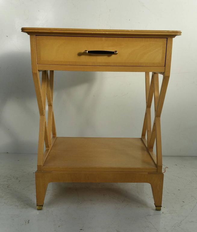 American Rare Renzo Rutili Stand Johnson Furniture For Sale