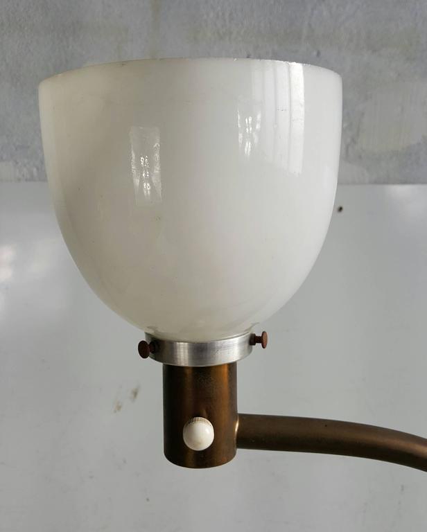Great example, Art Deco, Bauhaus, Walter Von Nessen adjustable height floor lamp. From 50