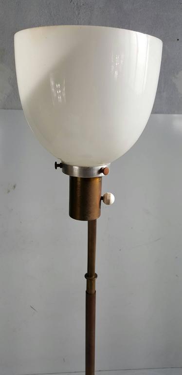 Early 1930s Walter Von Nessen Floor Lamp Art Deco For