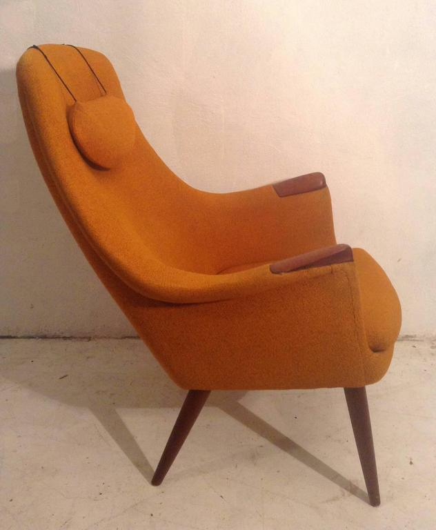 berg stol Teak Easy Chair by Gerhard Berg for L.K.Hjelle Stol and  berg stol