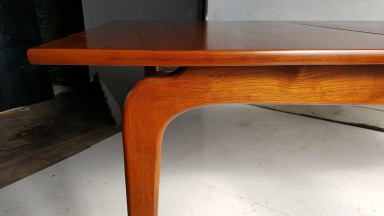 Classic Modernist Walnut Dining Table Lane Perseption For