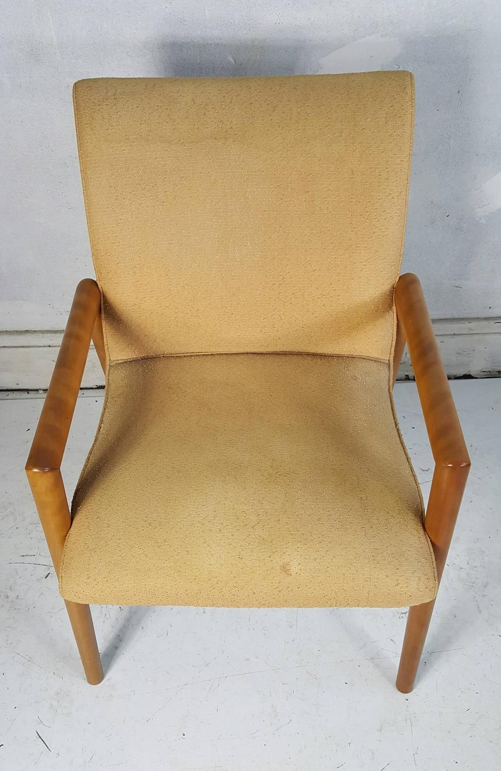Set of Four Russel Wright for Conant Ball Dining Chairs ...
