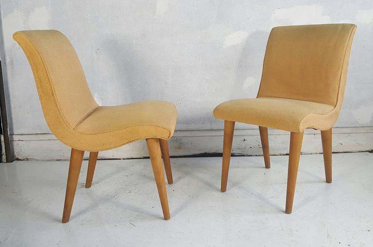 Set Of Four Russel Wright For Conant Ball Dining Chairs