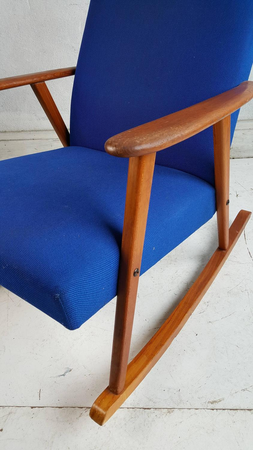 classic mid century modern danish rocking chair denmark for sale at
