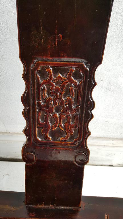 Set of Four Chinese Official's Chairs, Rosewood, Qing Dynasty, China For Sale 1