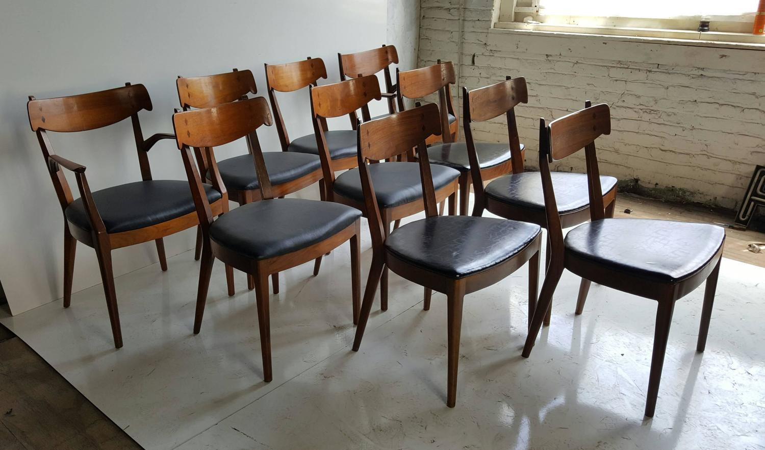century dining chairs by kipp stewart for drexel for sale at 1stdibs