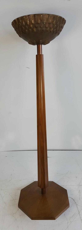 mid century modern brutalist stand planter candle for sale at 1stdibs. Black Bedroom Furniture Sets. Home Design Ideas