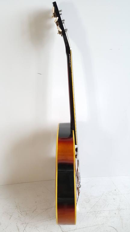 Acoustic or Electric Jazz Guitar, Silvertone, 1950s