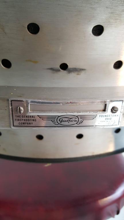 Rare GoodForm Adjustable Aluminum Drafting Stool, Industrial Elegance For Sale 2
