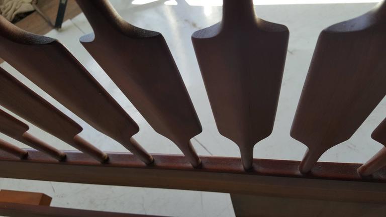 Mid-Century Modern King Bed and Headboard, Kipp Stewart, Drexel Declaration For Sale 2