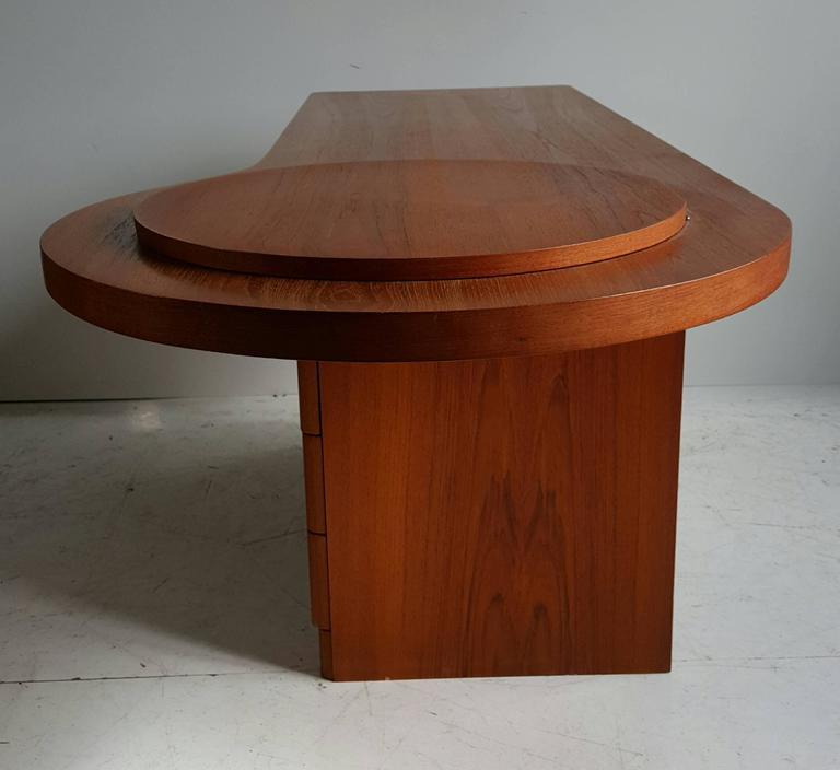 Furniture Montreal: Rare Teak Dresser / Vanity, Montreal's RS And Associates