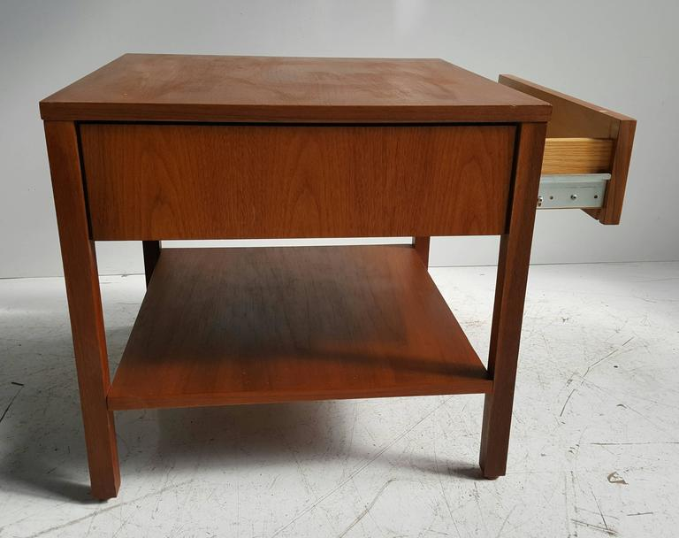 American Early Florence Knoll One-Drawer Table/Stand, Nightstand, Knoll For Sale