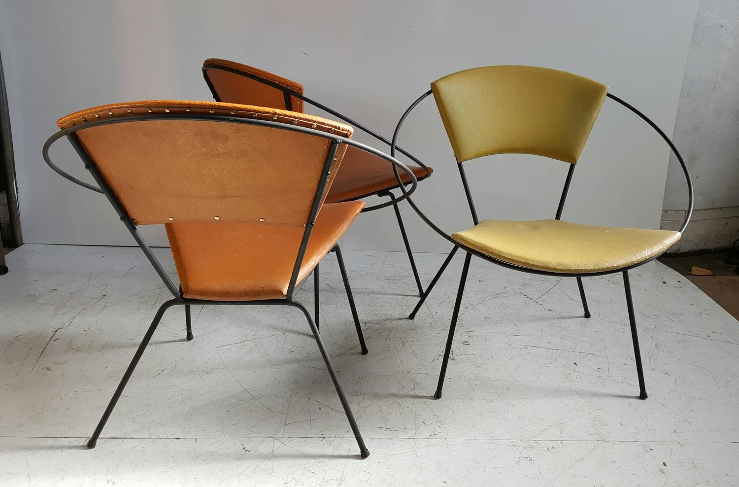 Classic Mid Century Modern Iron Quot Hoop Quot Chair After