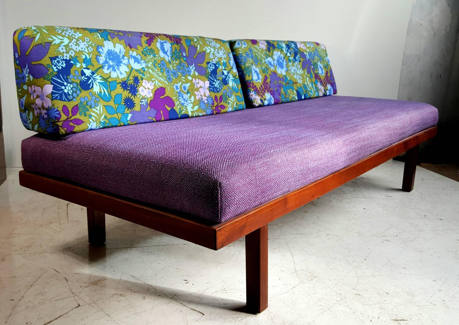 Mid-Century Modern Daybed/Sofa, George Nelson Inspired For ...