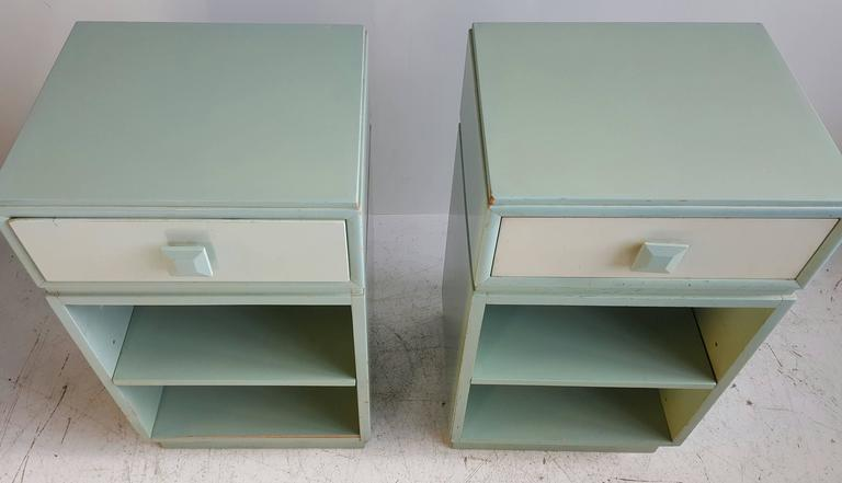 American Classic Mid-Century Modern Night Stands/Tables by Kittinger For Sale