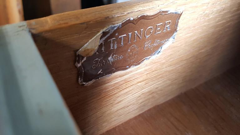 Classic Mid-Century Modern Night Stands/Tables by Kittinger For Sale 2
