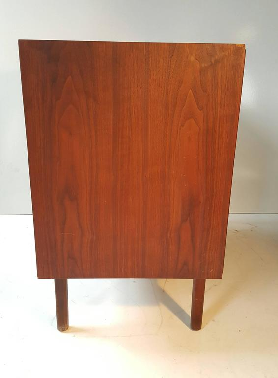Danish Modern Teak Three-Drawer Chest in the Manner of Arne Vodder In Good Condition For Sale In Buffalo, NY