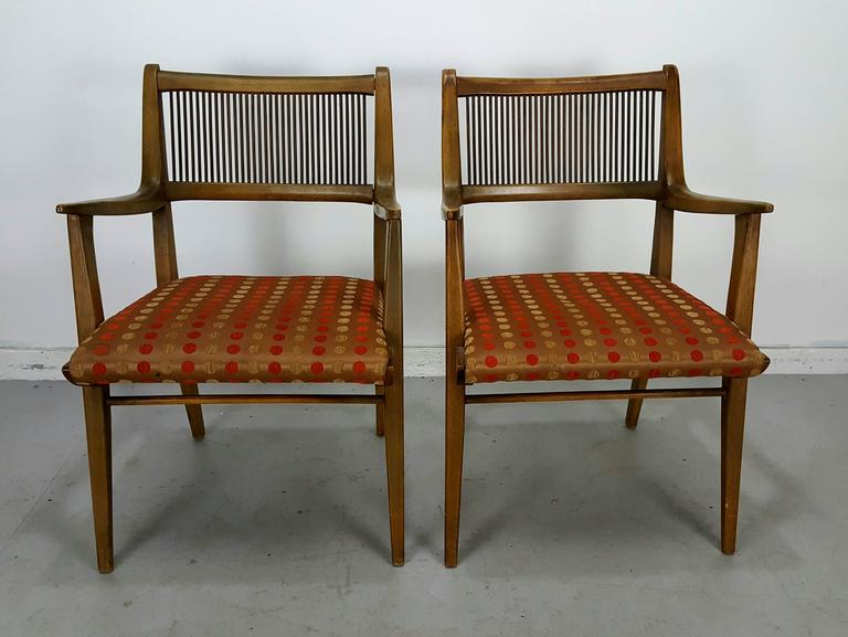 Set Of 8 Modernist Dining Chairs Designed By John Van
