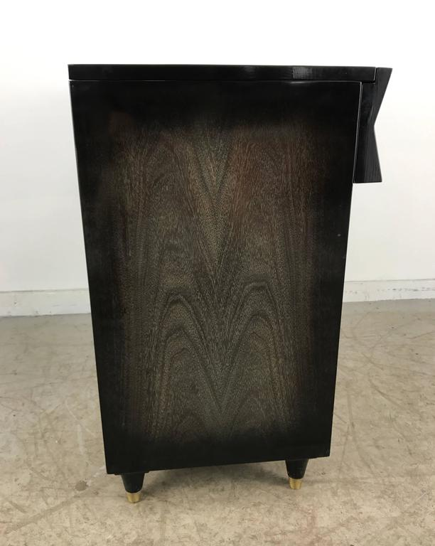 Oak Mid-Century Modern Dry Bar, Cabinet, Server or Storage For Sale